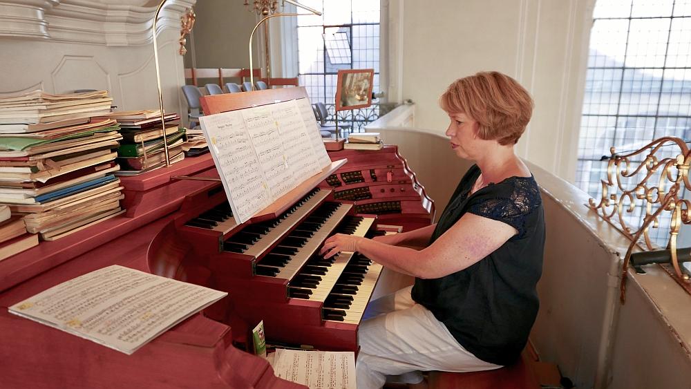2018: Organistin Susanne Kugelmeier (Foto: Manfred Weiler)