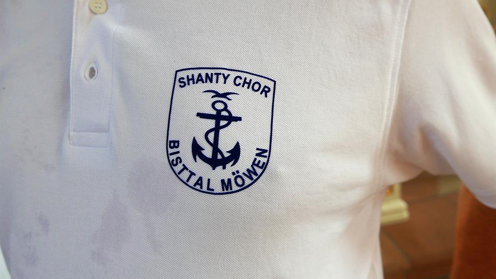 2018: Emblem Shanty Chor Bisttalmöwen (Foto: Manfred Weiler)