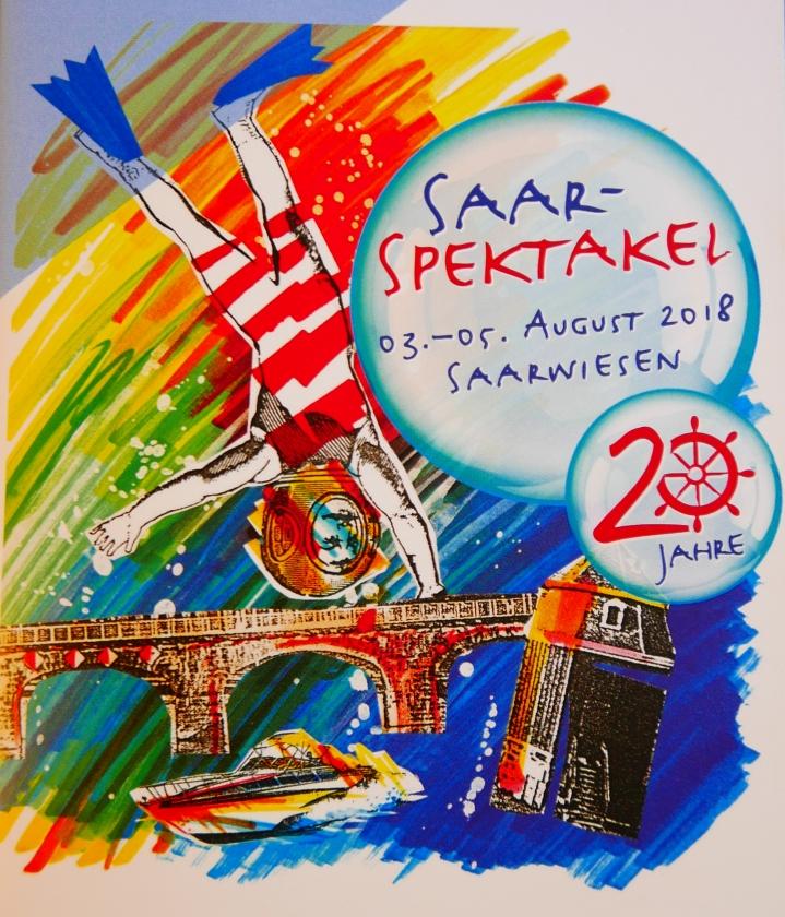 2018: Plakat zum Saarspektakel
