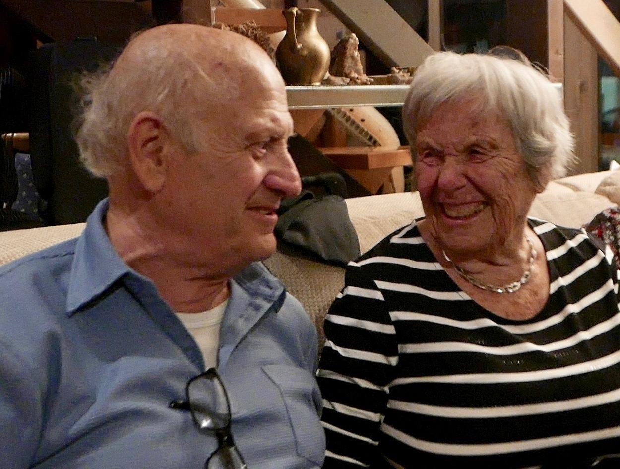 2018: Das Jubelpaar (Foto: Manfred Weiler)