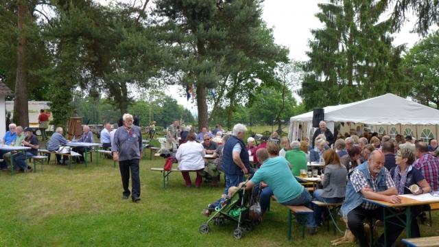 2015: Das Gelände des Sommerfestes (Foto: Imke Weiler)
