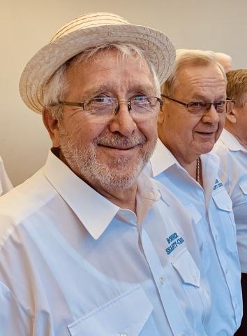 2019: Sänger Heinz Pinkernell und Frank Ponelies (Foto: Manfred Weiler)