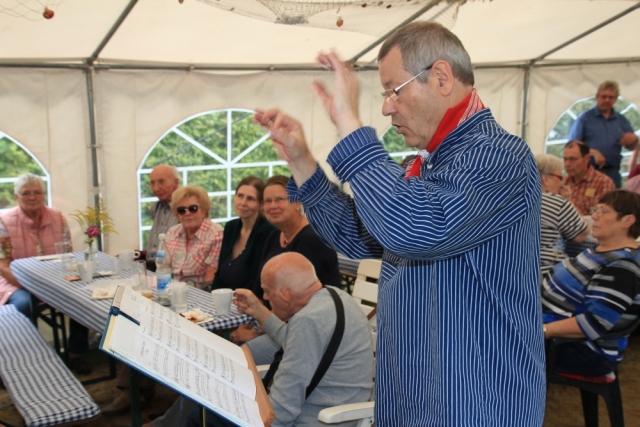 2017: Unser Dirigent: Martin Frey (Foto: Peter Müller)