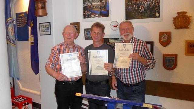 Franz Pointek, Udo Forster, Hans-Kurt Süßmilch (Foto: Manfred Weiler)