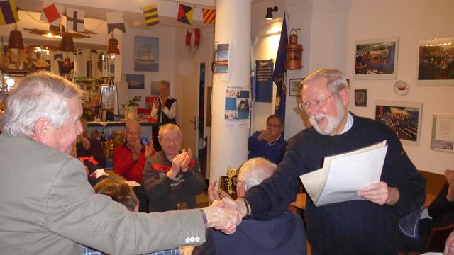 Egon Scherping (links; Foto: Manfred Weiler)