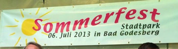 2013: Godesberger Sommerfest - Banner (Foto: Manfred Weiler)