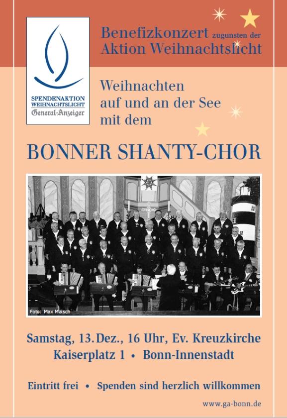 2008: Plakat für Benefizkonzert in der Kreuzkirche