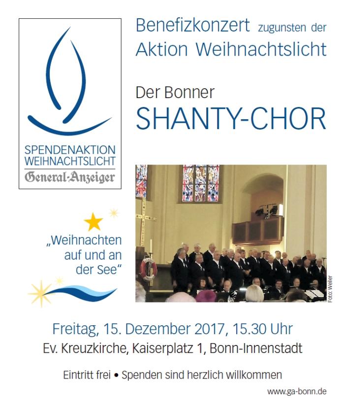 2017: Plakat für Benefizkonzert in der Kreuzkirche