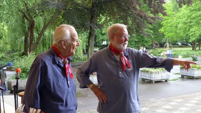 Beim Kurkonzert in Bad Godesberg