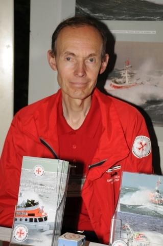 2013: Martin Winkler von der DGzRS (Foto: Şahap)