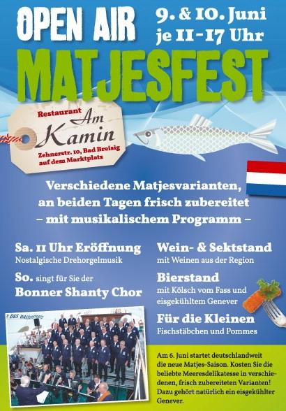 2012: Matjesfest - Plakat