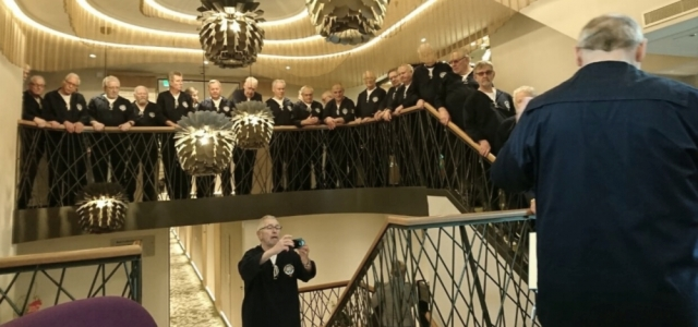 2018: ... der Chor steht weiter oben (Foto: Gertrud Ponelies)