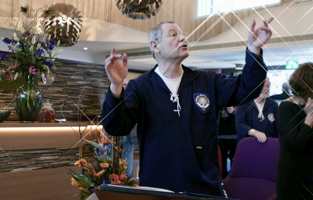 2018: Chorleiter Martin Frey (Foto: Manfred Weiler)