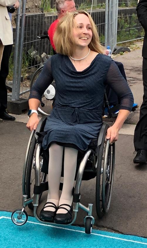 2019: Taufpatin Annika Zeyen (Foto: Imke Weiler)