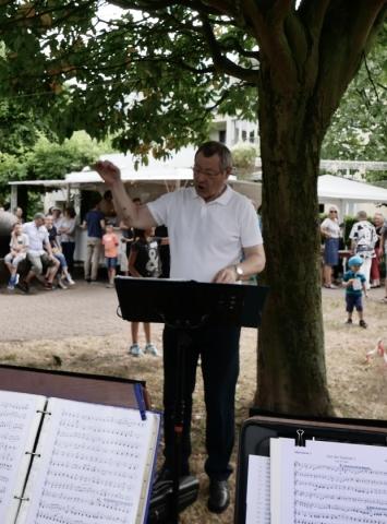2017: Dirigent Martin Frey (Foto: Manfred Weiler)