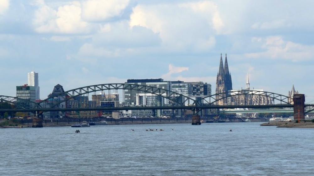 2016: Kölner Skyline (Foto: Manfred Weiler)