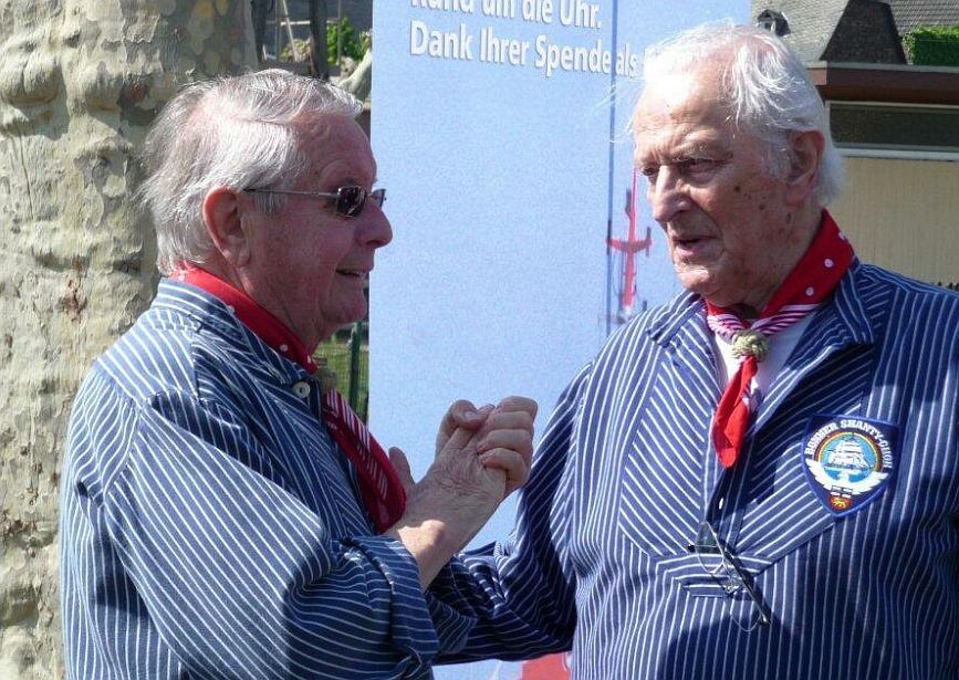 2010: Im Gespräch (Foto: Imke Weiler)