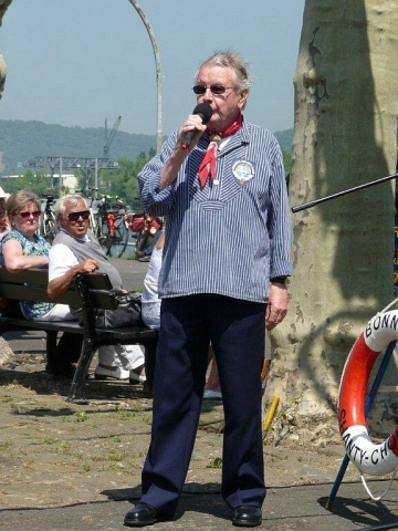 2010: Solist Egon Scherping (Foto: Imke Weiler)