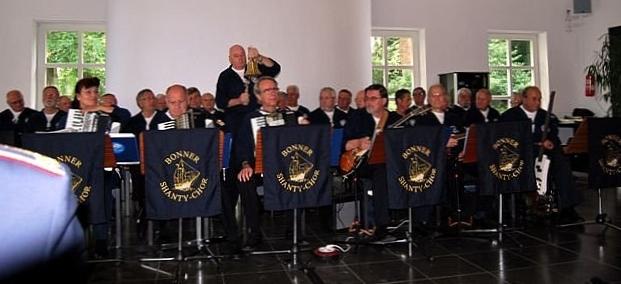 BONNER SHANTY-CHOR bei der Gründungsveranstaltung des Freundeskreises EGV (Einsatzgruppenversorger) Bonn (Foto: privat)