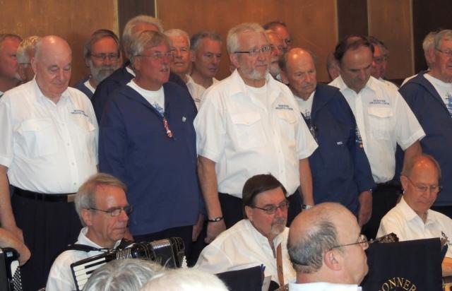 2013: Gemischter Chor: BONNER SHANTY- und Passat-Chor (Foto: Achim Haupt)