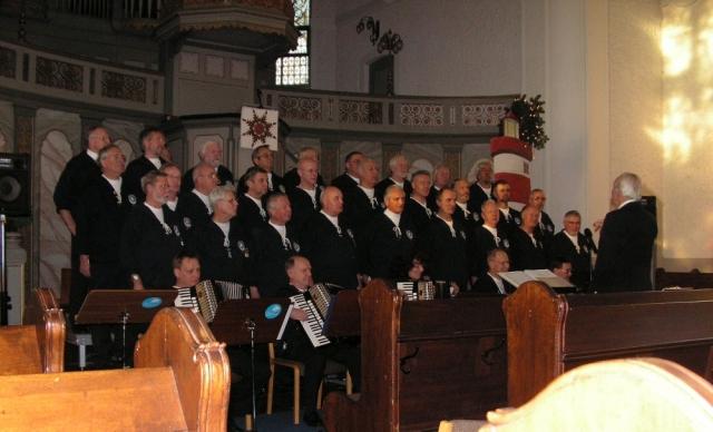 BONNER SHANTY-CHOR in der Ev. Kirche Oberkassel