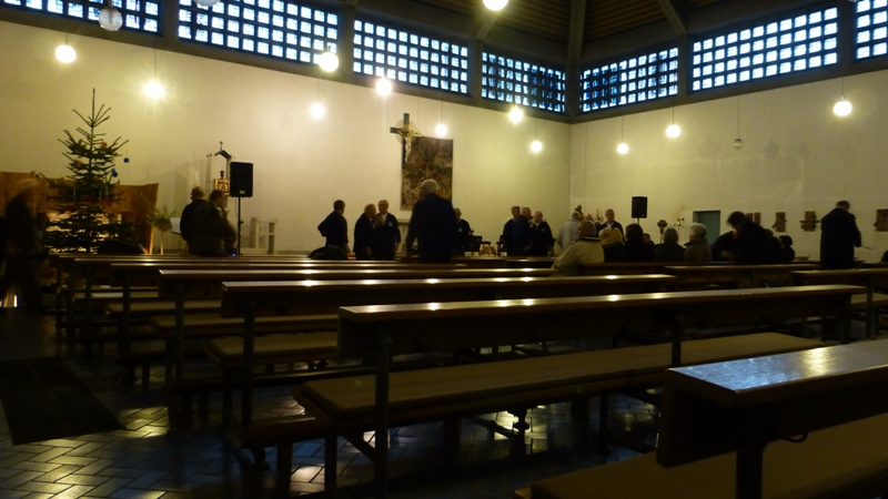 2012: Kirchenraum (Foto: Manfred Weiler)