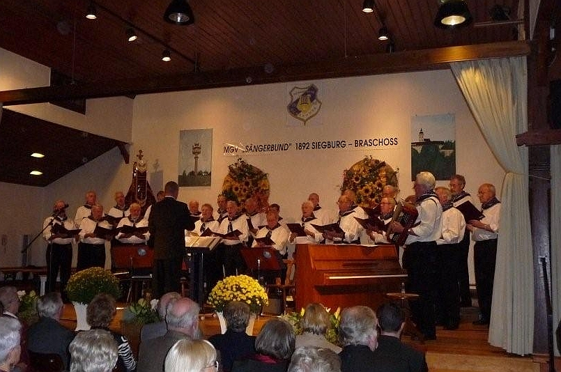 """2009: Der MGV """"Sängerbund"""" Siegburg-Braschoß (Foto: Imke Weiler)"""