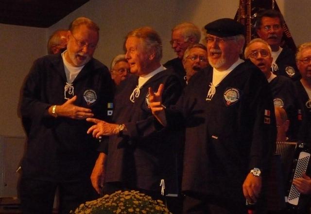 2009: Solisten des BONNER SHANTY-CHORES (Foto: Imke Weiler)