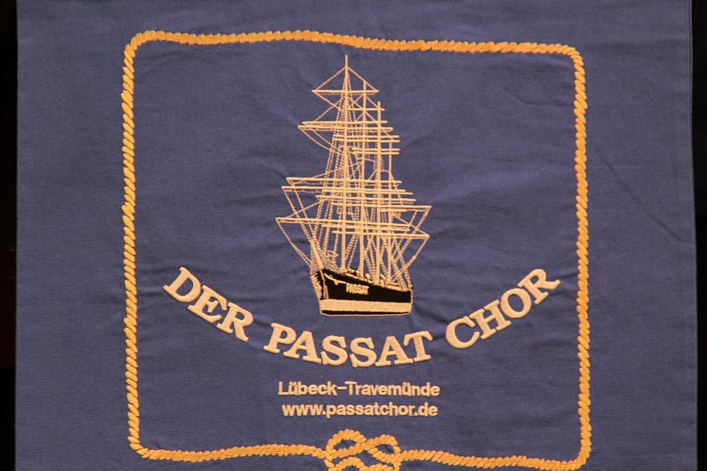 2012: Standarte des PASSAT CHORES (Foto: BSC)