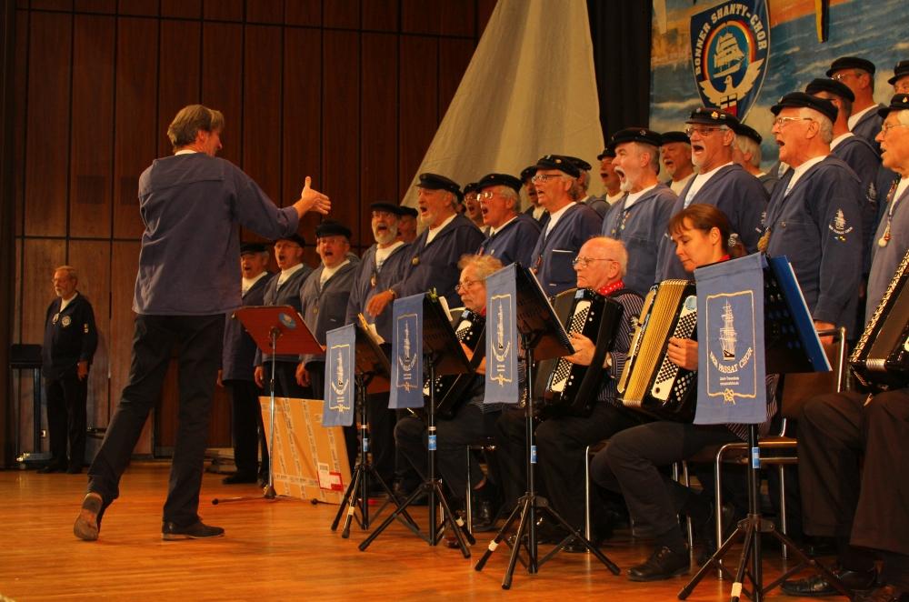 2012: Der PASSAT CHOR unter der Leitung von Stephan Fleck (Foto: BSC)