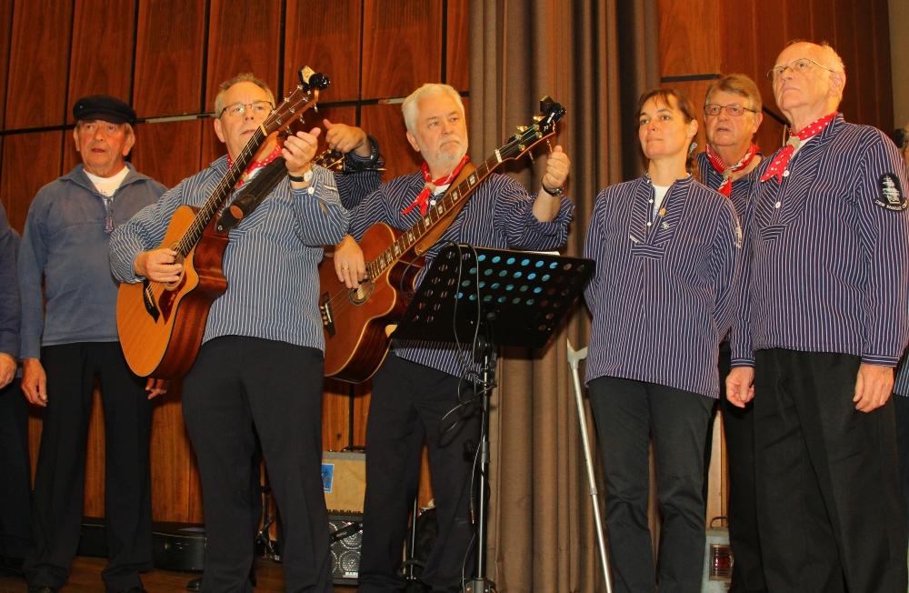 2012: Instrumentalisten des PASSAT CHORES (Foto: BSC)