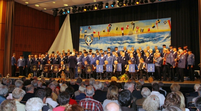 2012: Beide Chöre beim Jubiläum 25 Jahre BONNER SHANTY-CHOR (Foto: BSC)