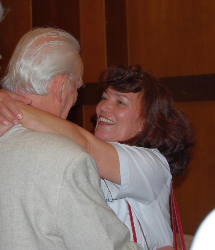 2008: Es gratuliert: Heidrun Schulz (Foto: Achim Haupt)