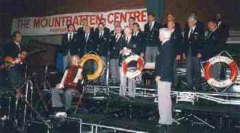 1988: BONNER SHANTY-CHOR im Mountbatton Centre, Portsmouth (Foto: privat)