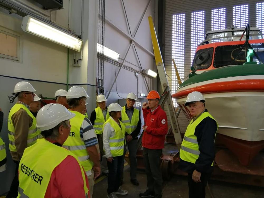 2018: In der Schiffsausbesserungshalle (Archivfoto)
