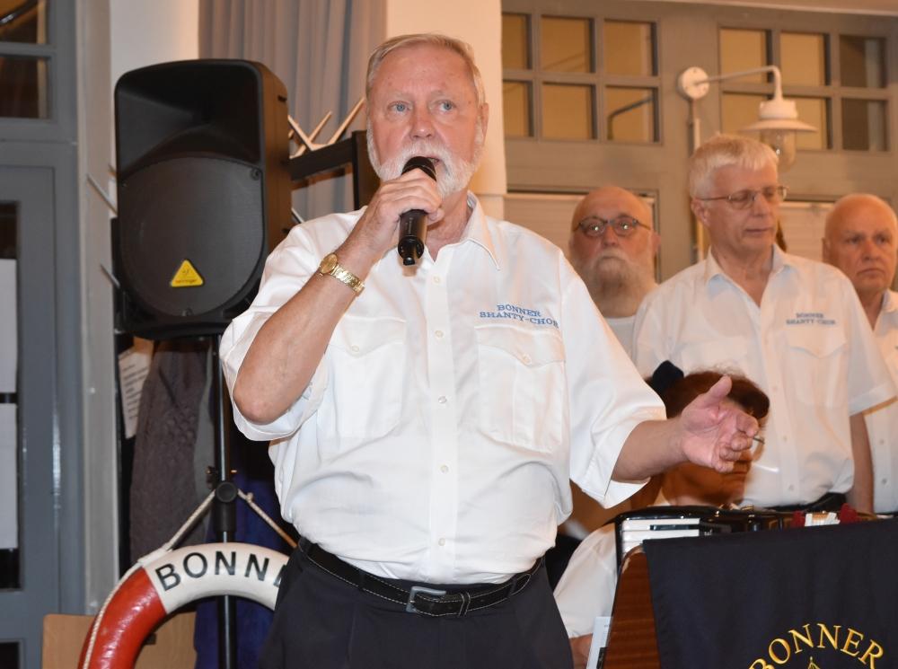 2018: Hans-Kurt Süßmilch moderiert (Foto: Horst Krien)