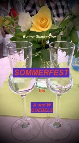 2019: Grillfest des BSC bei Ehepaar Goebels (Foto: Manfred Weiler)