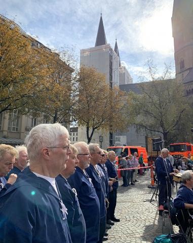 2019: BONNER SHANTY-CHOR beim Tag der Feuerwehr (Foto: Manfred Weiler)