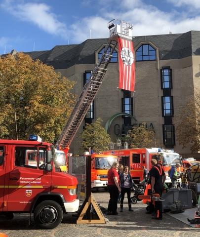 2019: Feuerwehrleiter (Foto: Manfred Weiler)