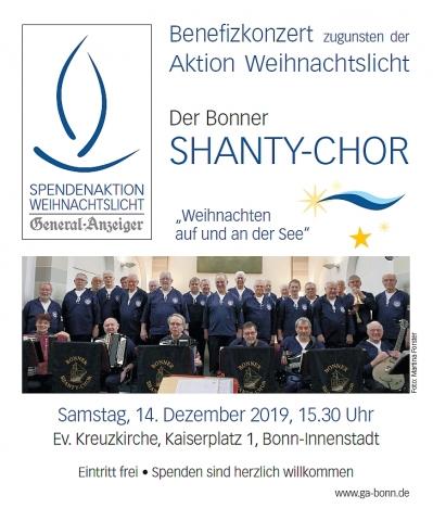 2019: Plakat für Benefizkonzert in der Kreuzkirche