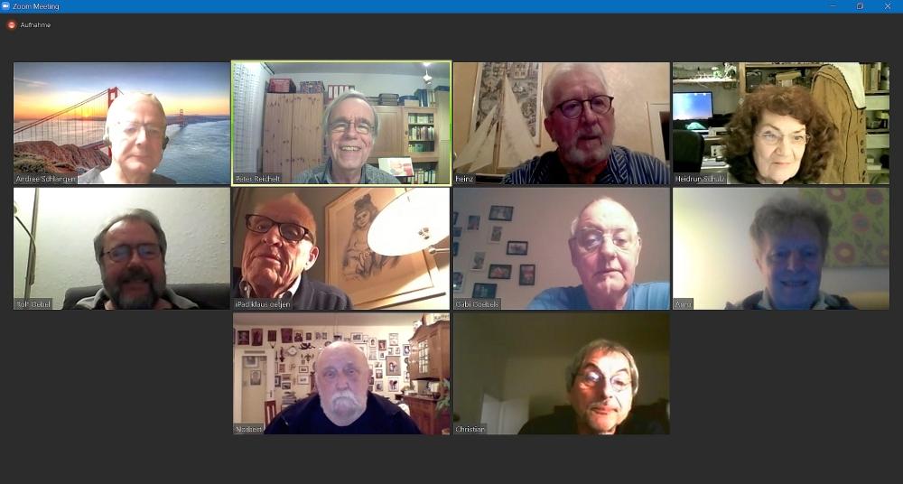 2021 Virtuelles Treffen KW 8