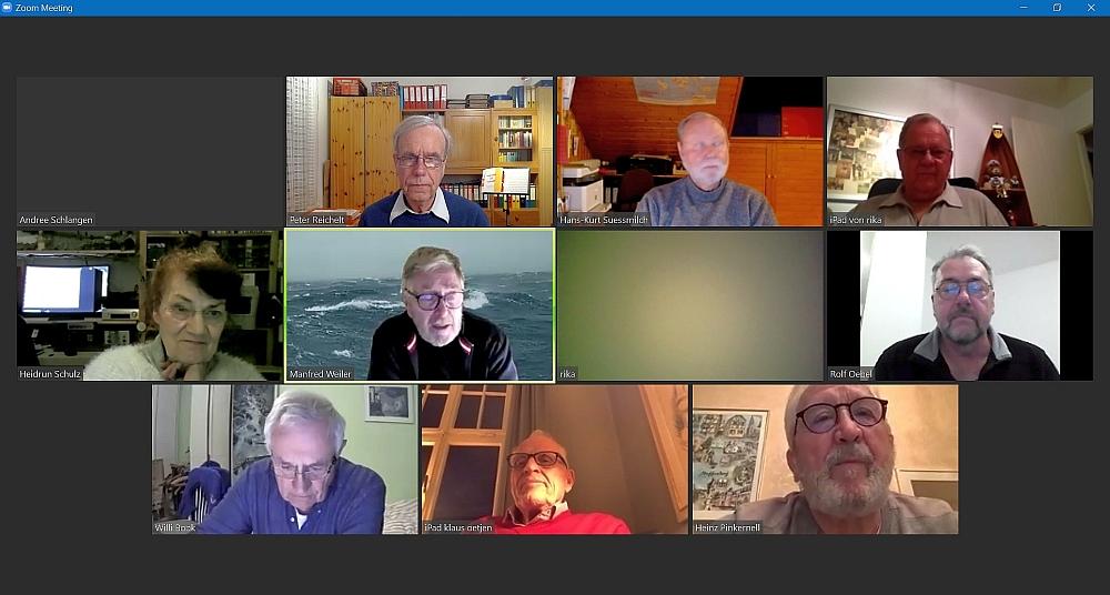 2021 Virtuelles Treffen KW 11