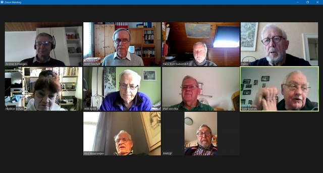 2021 Virtuelles Treffen KW 15